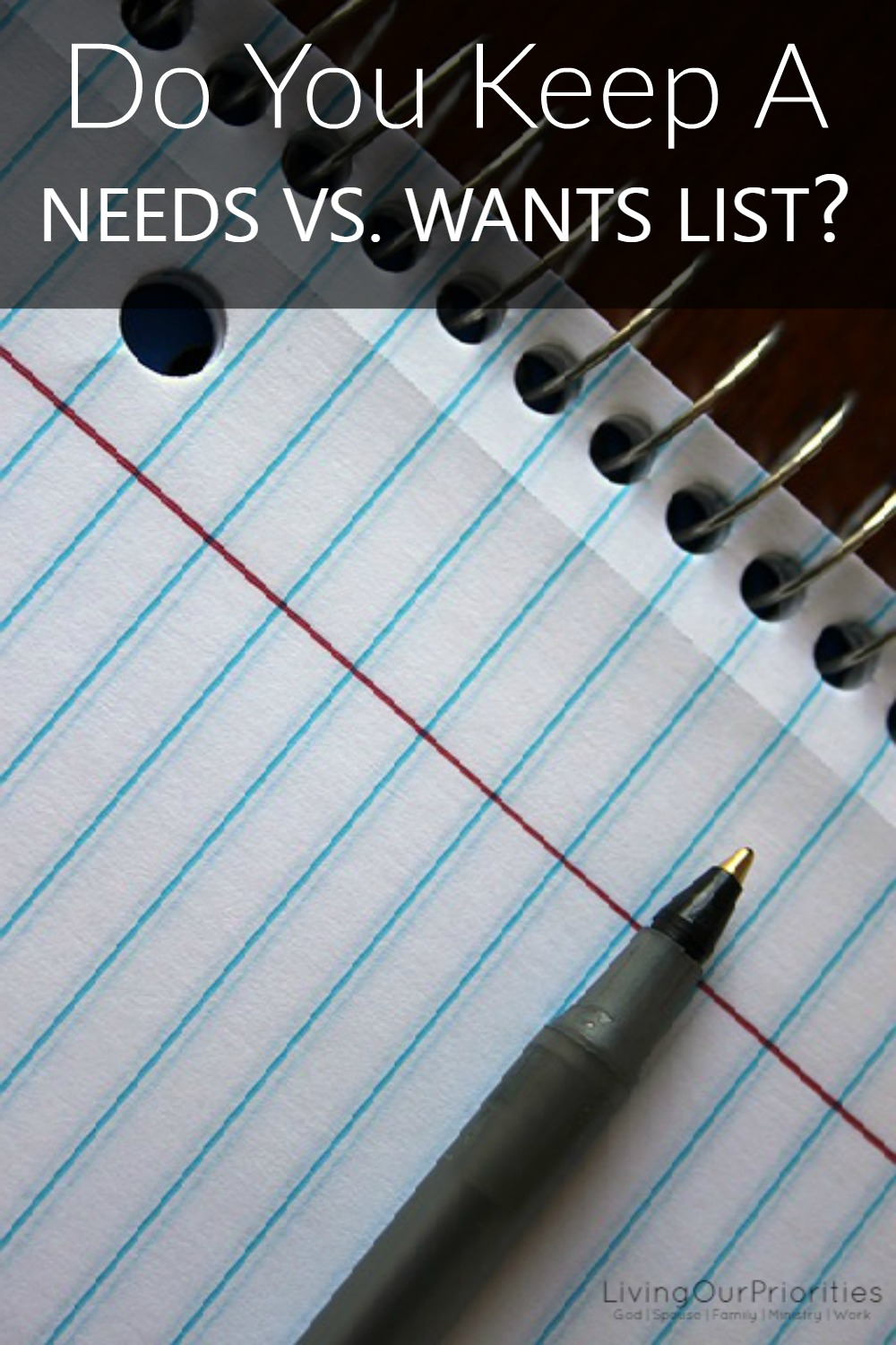 Needs vs wants in a relationship