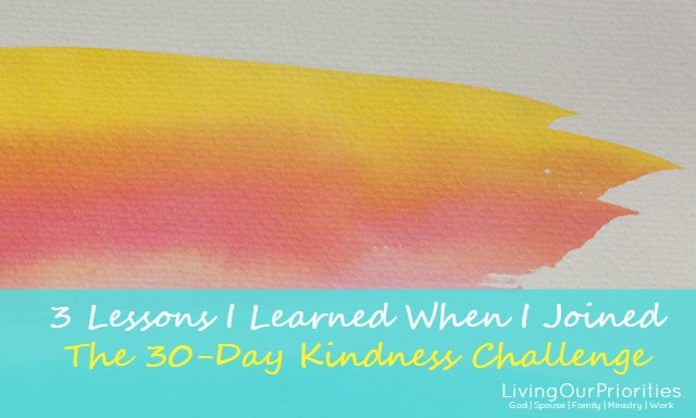 Do you consider yourself to be a kind person? I thought I was too, until I joined the 30-day kindness challenge. It's amazing what you will find out about yourself when you focus on a particular behavior for 30 days. Are you up for the challenge?