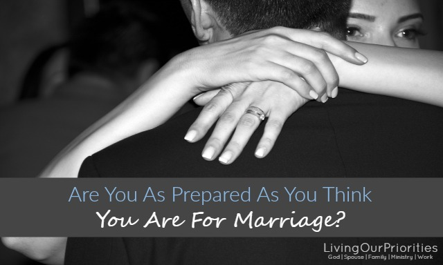 Don't just pray about getting married, prepare for it. Sometimes our need for companionship, blinds our need for preparation. In this post we outline five areas you can start preparing for marriage right now.