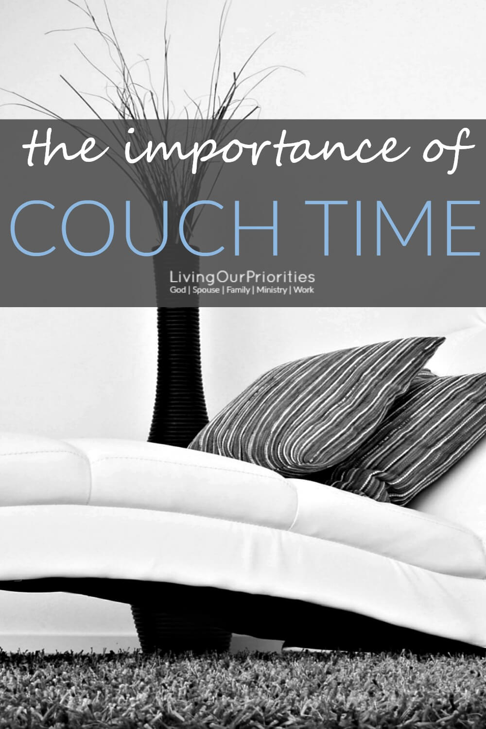 Do you take couch time? Not to long ago we discovered the impact couch time made with our family. Read more to learn why it's important.