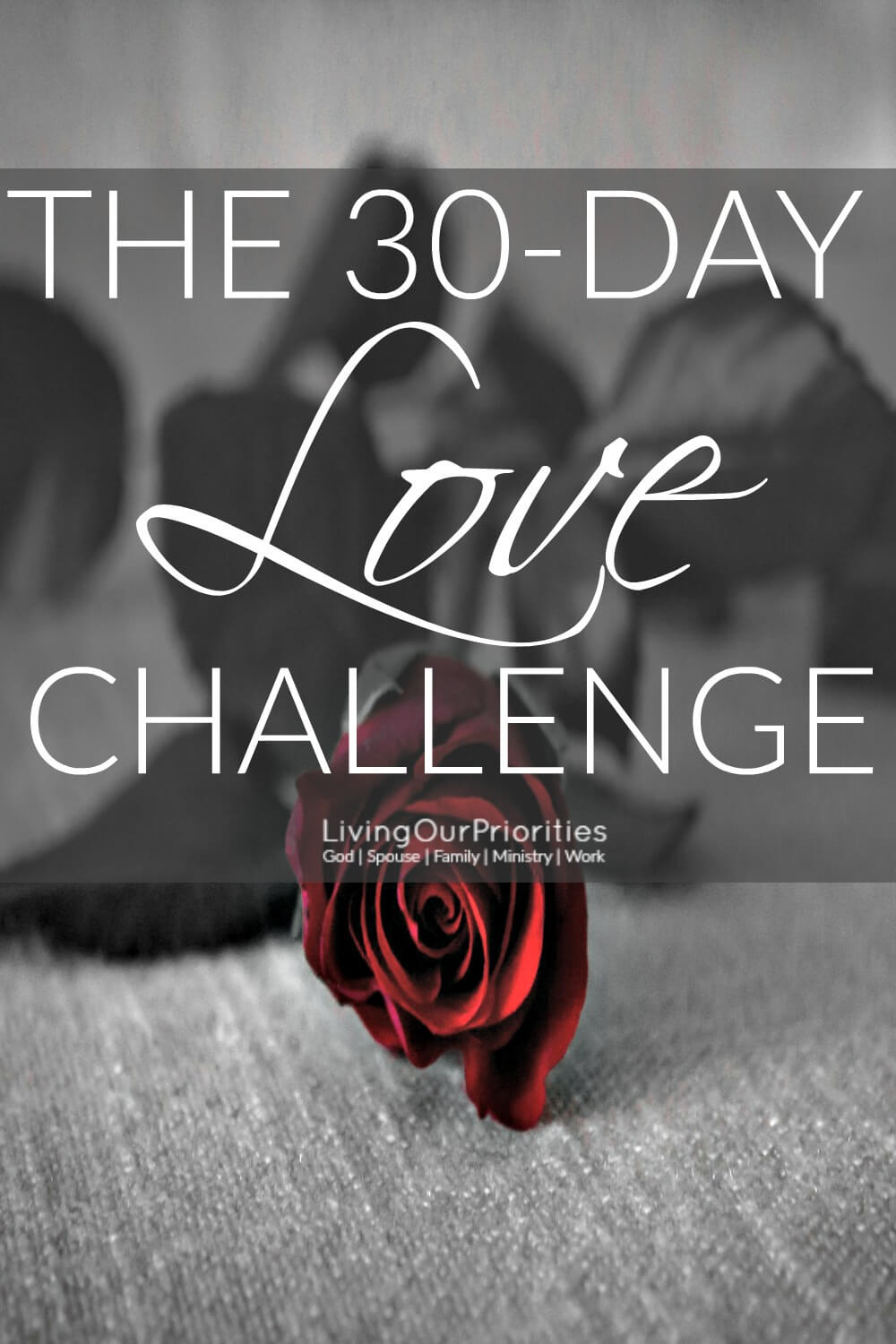 Want to improve your relationship in 30-days? Take the 30-Day Love Challenge. Read more to find out how.