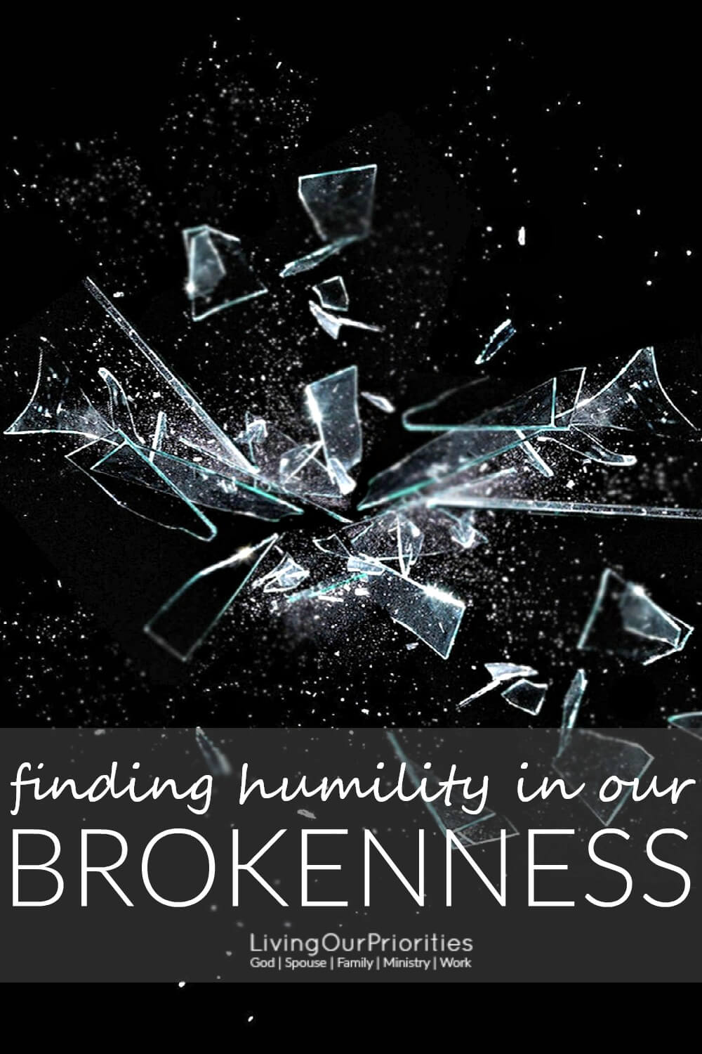 Have you come to a place of complete brokenness; a place where you feel lost, lonely, broke and emotionally drained? Brokenness can lead to healing, restoration, and peace; if we embrace the moment as an opportunity to draw closer to God. And it is through this process where we grow in humility.
