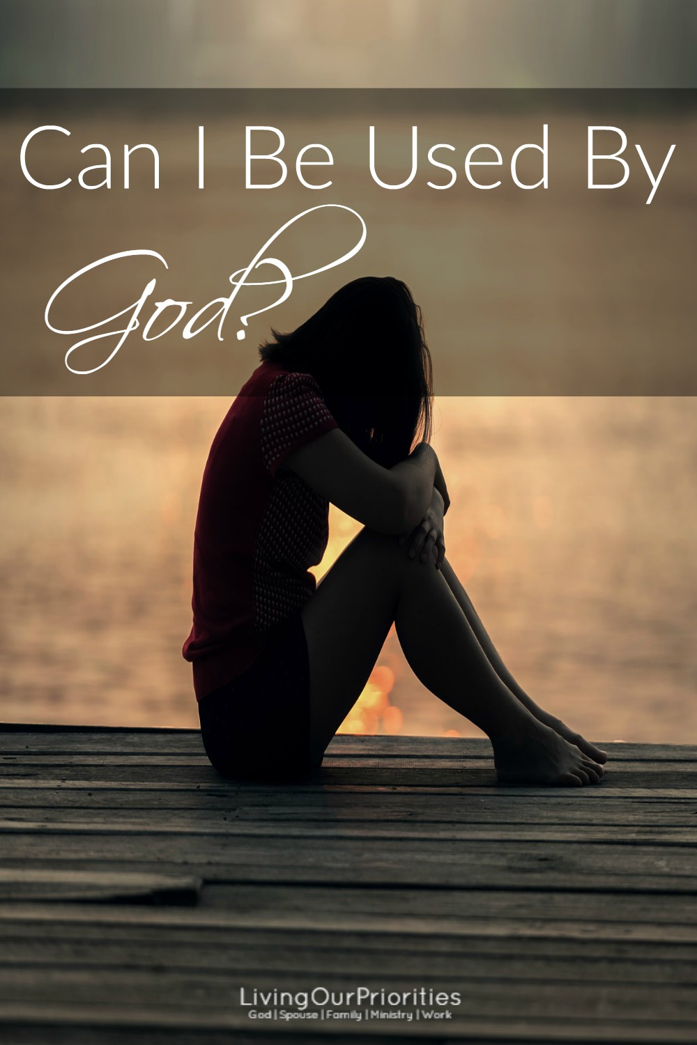 Can I be used by God? The truth is, we don't doubt that God can use people, we doubt if God can use us! It comes down to this; am I ready to be used by Him?