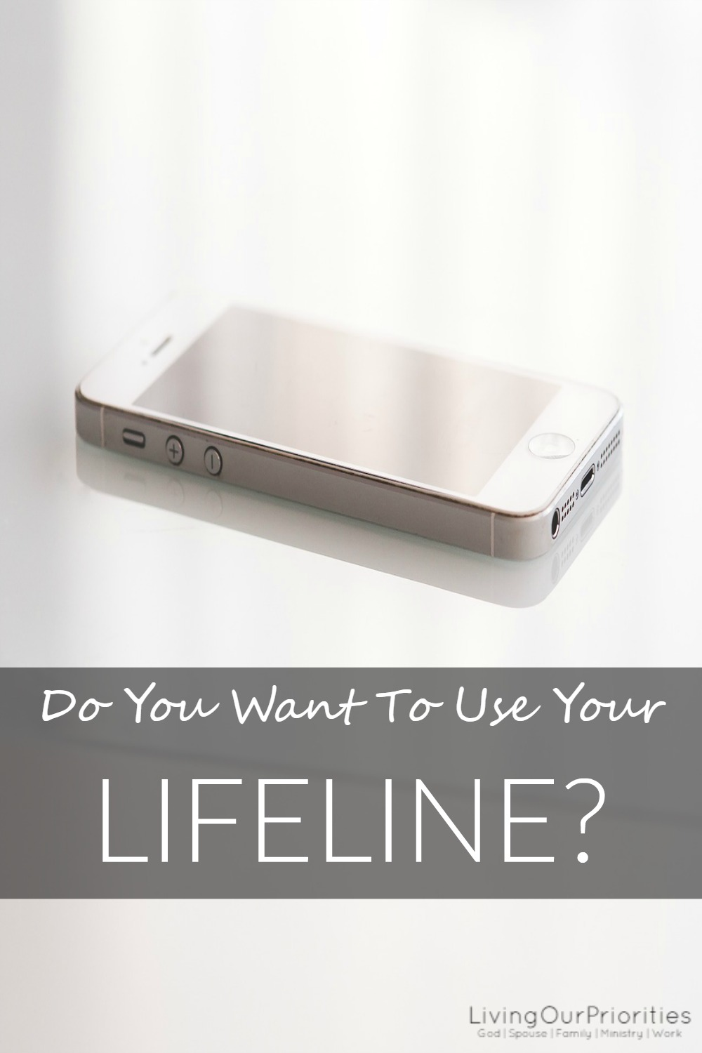 If you were asked to use your lifeline who would you call?