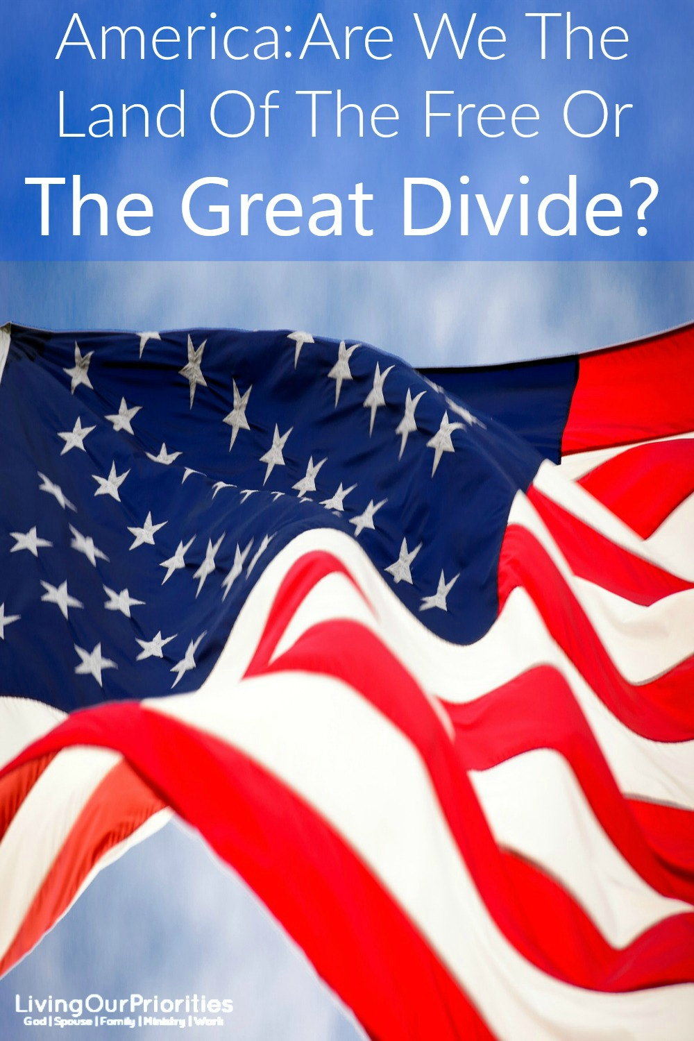 """Together we stand, divided we fall. It's that simple! Mark 3:25 tells us, """"If a house is divided against itself, that house cannot stand."""" Why then do we insist on being so divided?"""