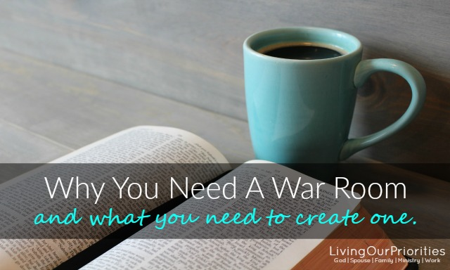 Why You Need A War Room And How To Create One