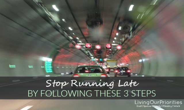 Stop Running Late By Following These 3 Steps