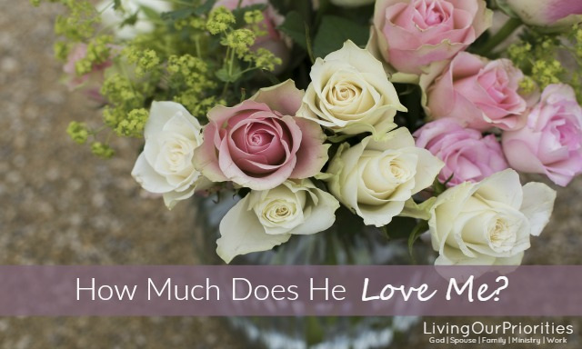 Why are so many of us insecure when it comes to love; when it comes to God's love? If you wonder if God loves you this blog post is for you.