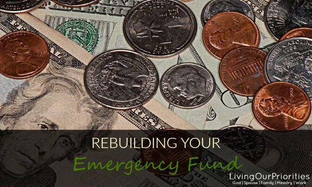 Rebuilding Your Emergency Fund