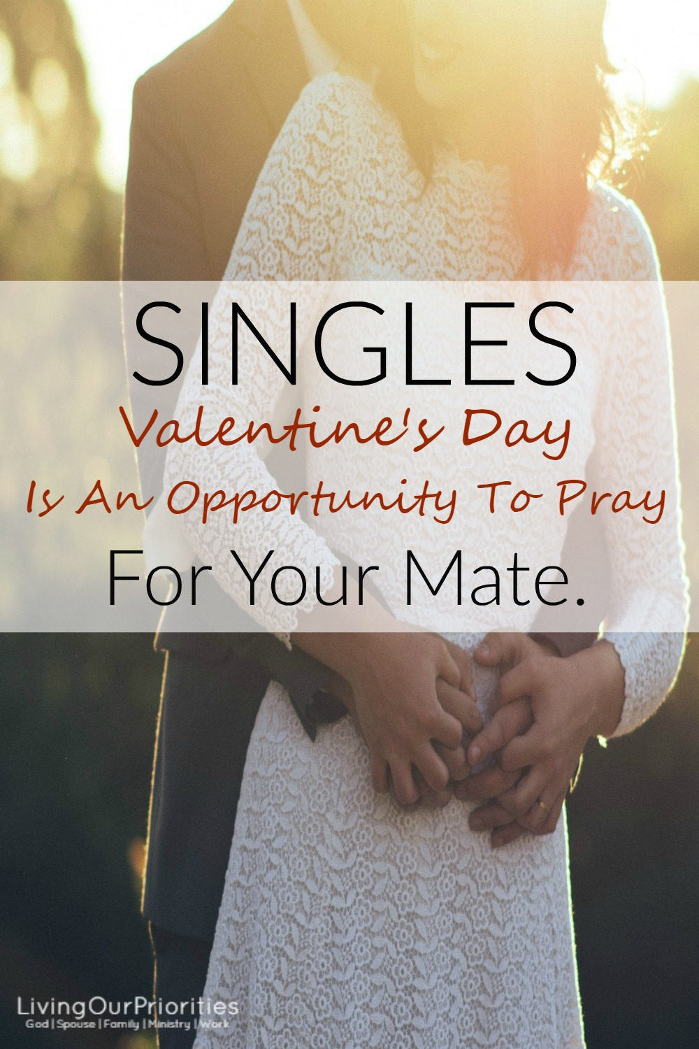 Valentineu0027s Day Is Not Single Awareness Day! Itu0027s An Opportunity To Pray  For Your Future