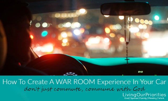How To Create A War Room Experience In Your Car