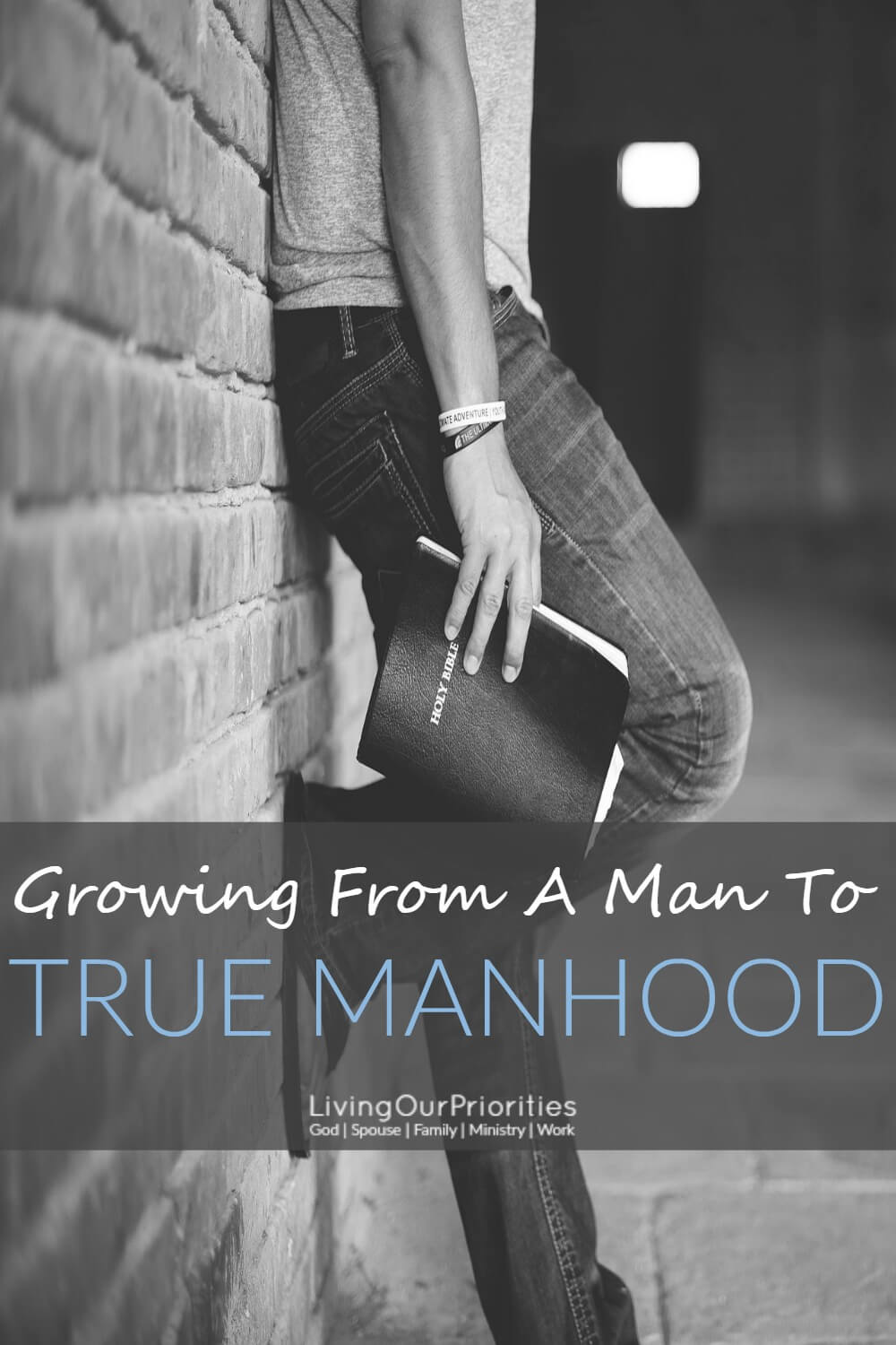 I used to think being a man and my manhood were the same. However, as I got older, I realized there's so much more to being a man. There's so much more to growing from a man to true manhood.