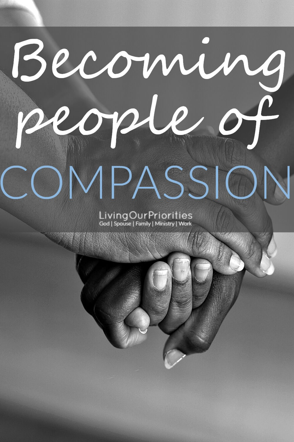 Many of us like to think we are compassionate, but are we perceived as being compassionate? What would our world if were all people of compassion?