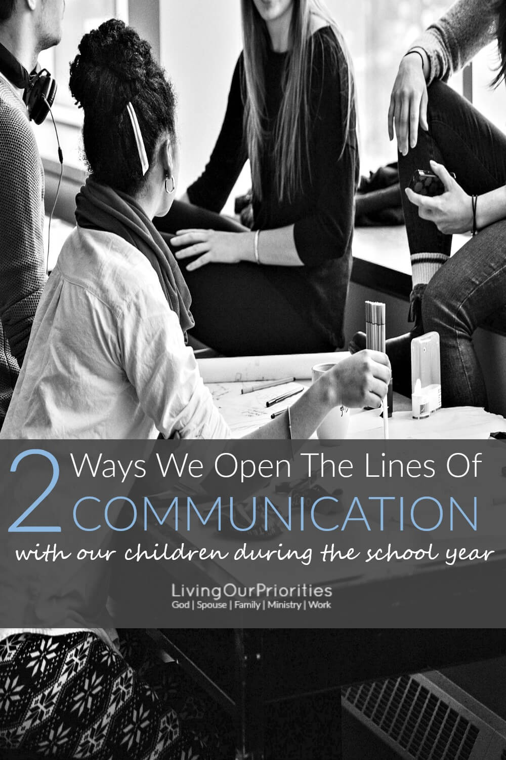 Communicating with today's generation of kids, isn't easy. But we are changing that in our household! Learn two ways to open the lines of communication with children, especially during the school year.