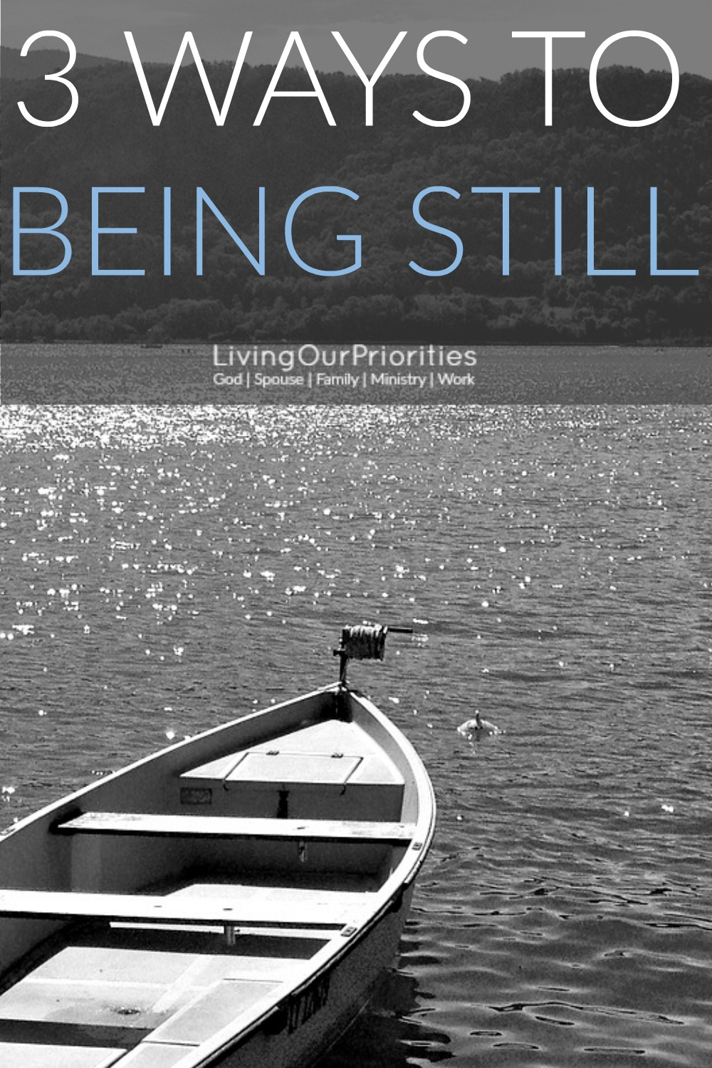 Being still in the Lord does not mean we do nothing. Rather we must be still in the doing. What do I mean by that? Read more to find out.