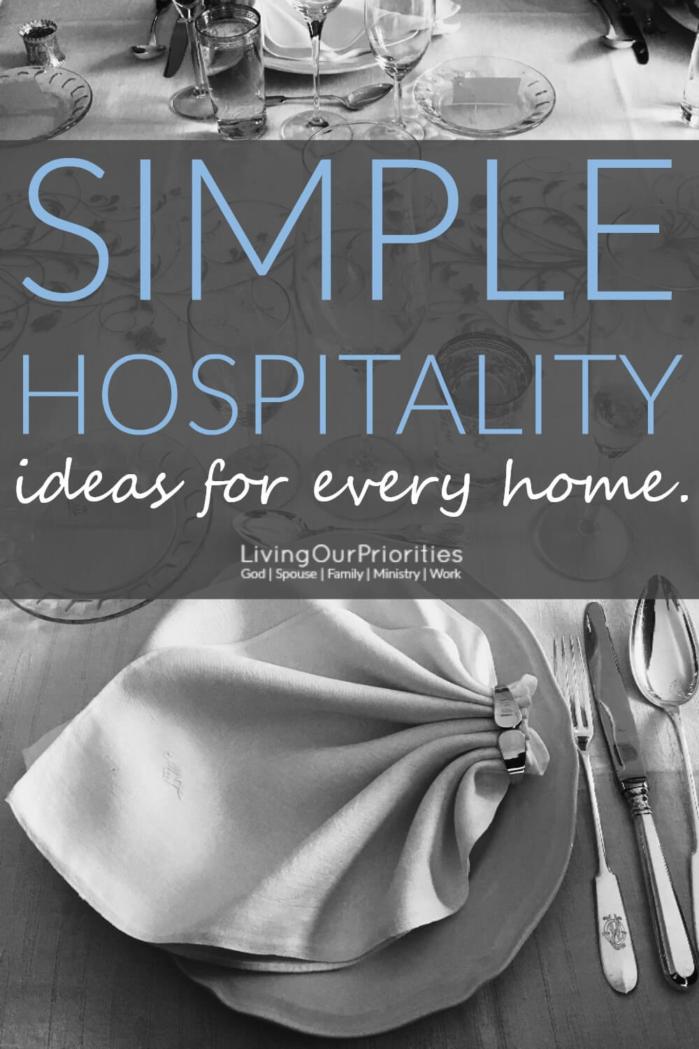 Hospitality is what we do believers in Christ! And it does not need to be complex. Read more to learn simple hospitality ideas for every home.