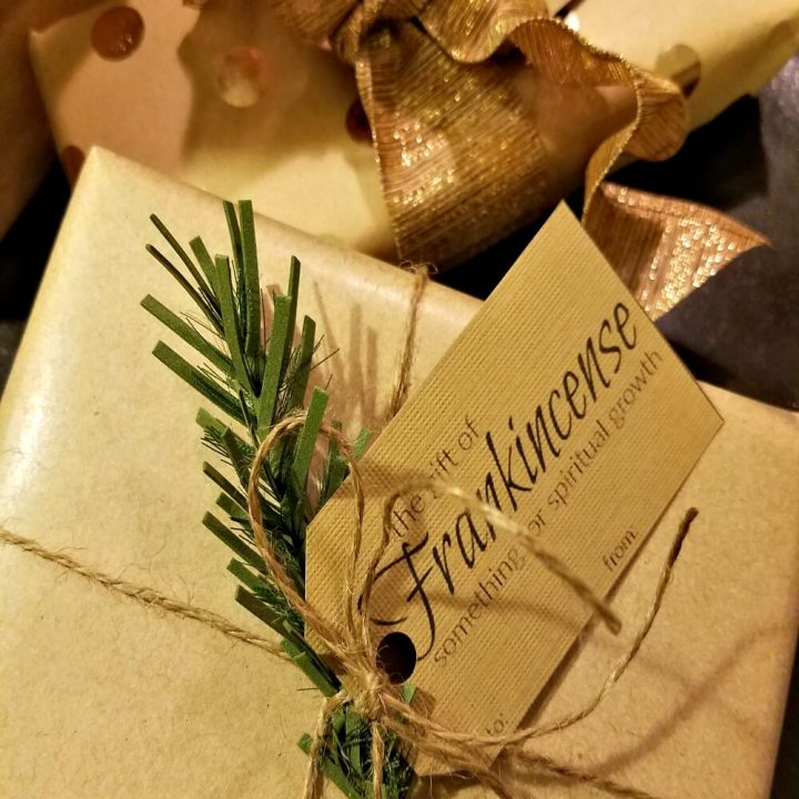 Gold, Frankincense & Myrrh Gift Tags