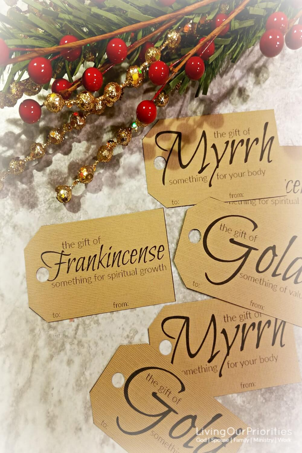 Gold Frankincense And Myrrh Christmas Gifts.How To Give The Gift Of Gold Frankincense And Myrrh