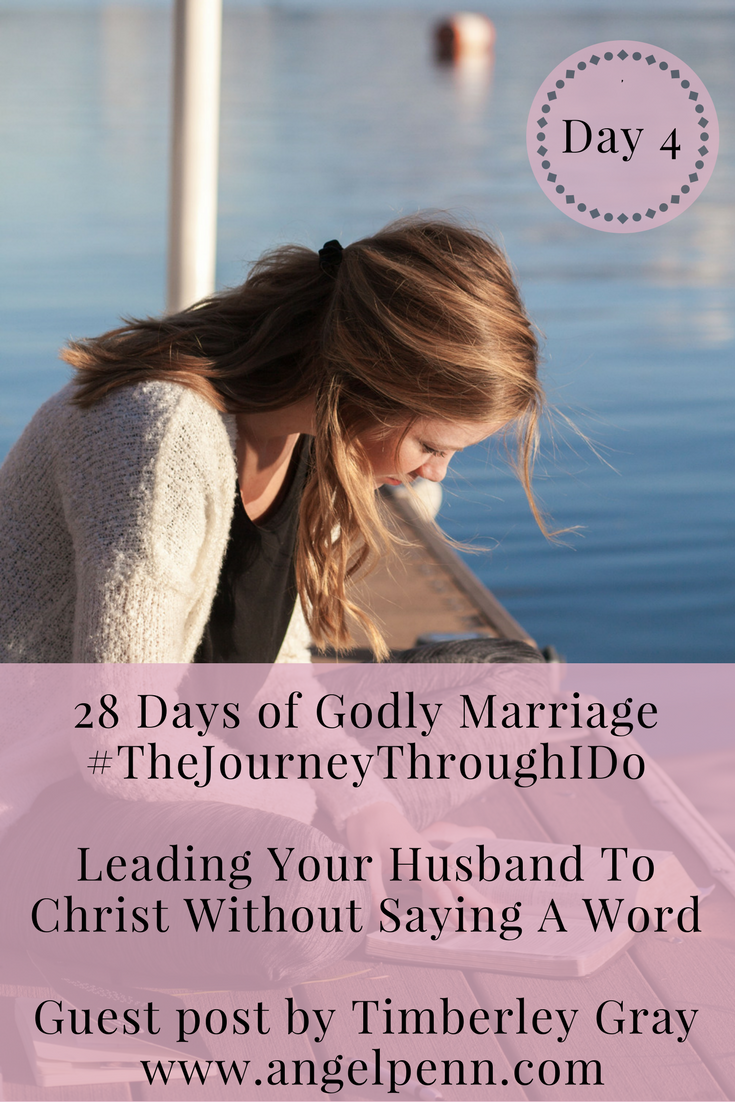 Do you feel stuck in a marriage that is unequally yoked? Then I've got news for you. YOU can turn that around. Yes, that's right leading your husband to Christ without saying a word, is the catalyst for turning around an equally yoked marriage to a godly marriage! Read more to learn how.
