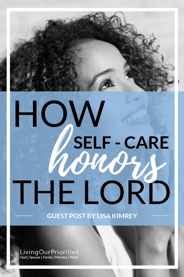 Our bodies are the temple of the Holy Spirit and when we make self-care a priority we bring honor the to Lord. #selfcare #priorities #holyspirit #healing #livingourpriorities