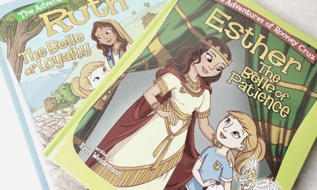 Can your daughter name 5 Disney Princesses? What about 5 women of the Bible? If not checkout our Bible Belles Book Review.