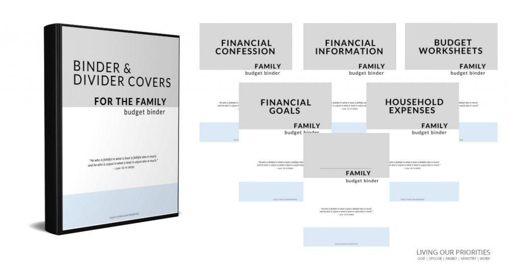 Family Budget Binder