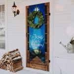 Jesus Is The Reason Christmas Door Banner