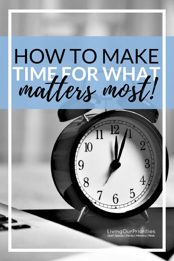 If only we could make time for what matters most. The reality is there is sufficient time; we just have to discern our time by applying these three things…#maketimeforwhatmatters #moretimeinaday #timemanagement #timemanagementtips #maketime #moretime #livingourpriorities #priorities