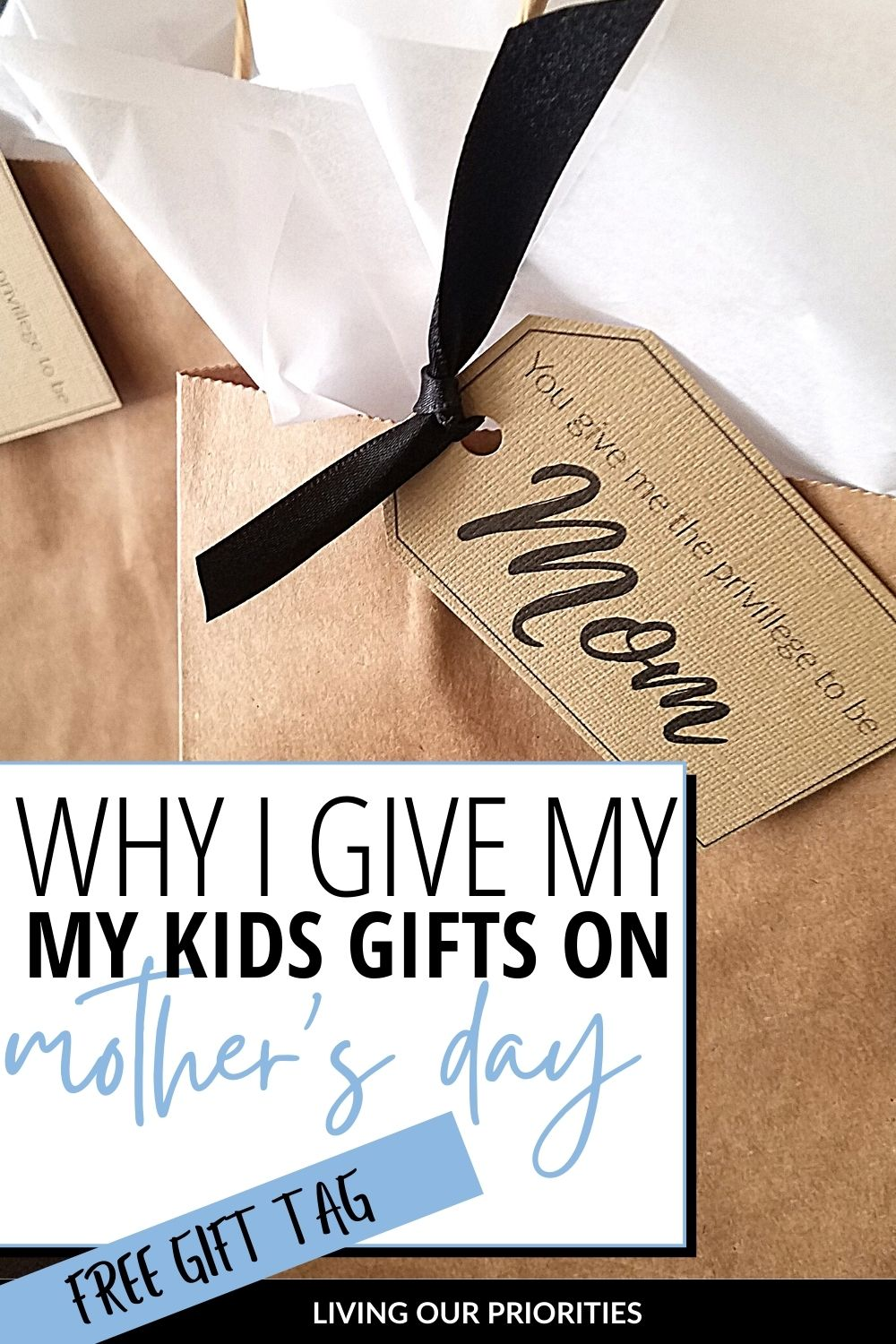 My greatest accomplishment in this life is raising the children God has given me. So on Mother's Day I actually buy them gifts. As it is only because of them, that I have the privilege to be called mom! #Mother's Day #Printable