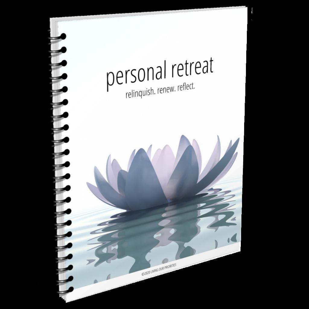 FREE printable personal retreat guide