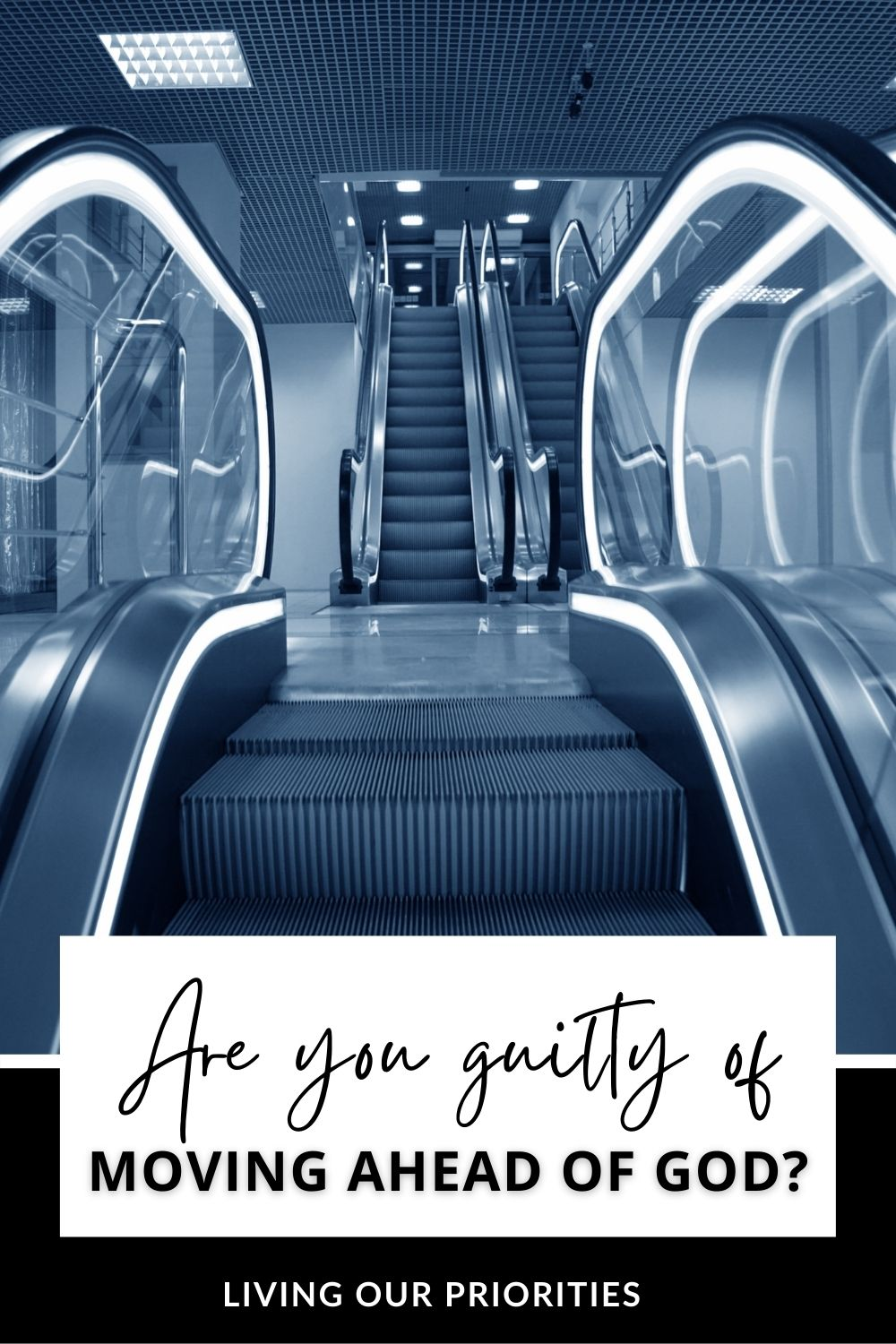 Are you guilty of moving ahead of God? I can admit I used to, until I learned to make waiting on God a lifestyle.