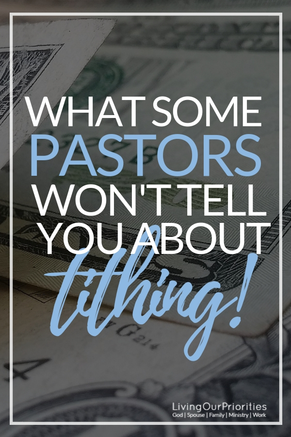What Some Pastors Won T Tell You About Tithing
