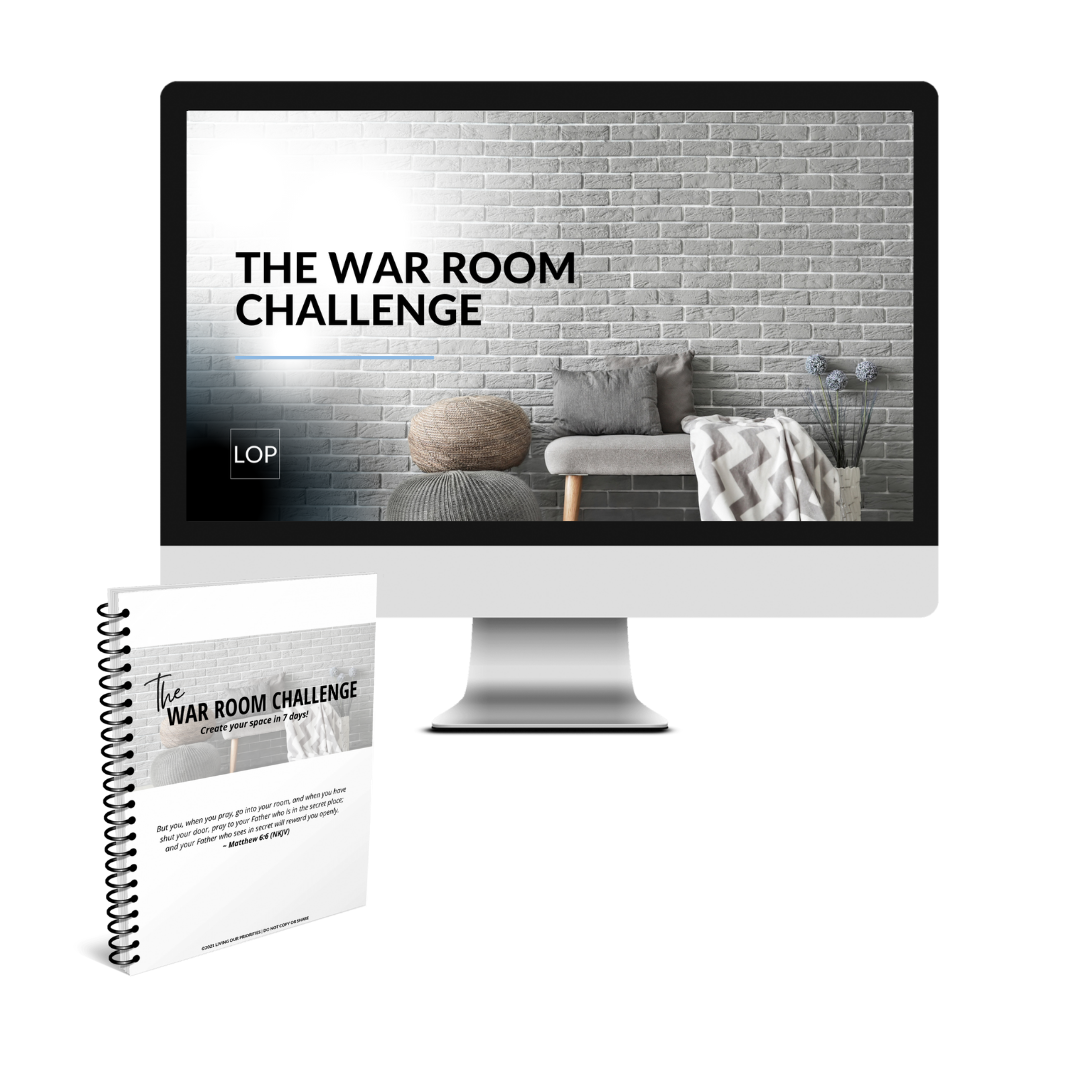 The War Room Challenge - go from thinking about a War Room to creating a War Room in 7 days!